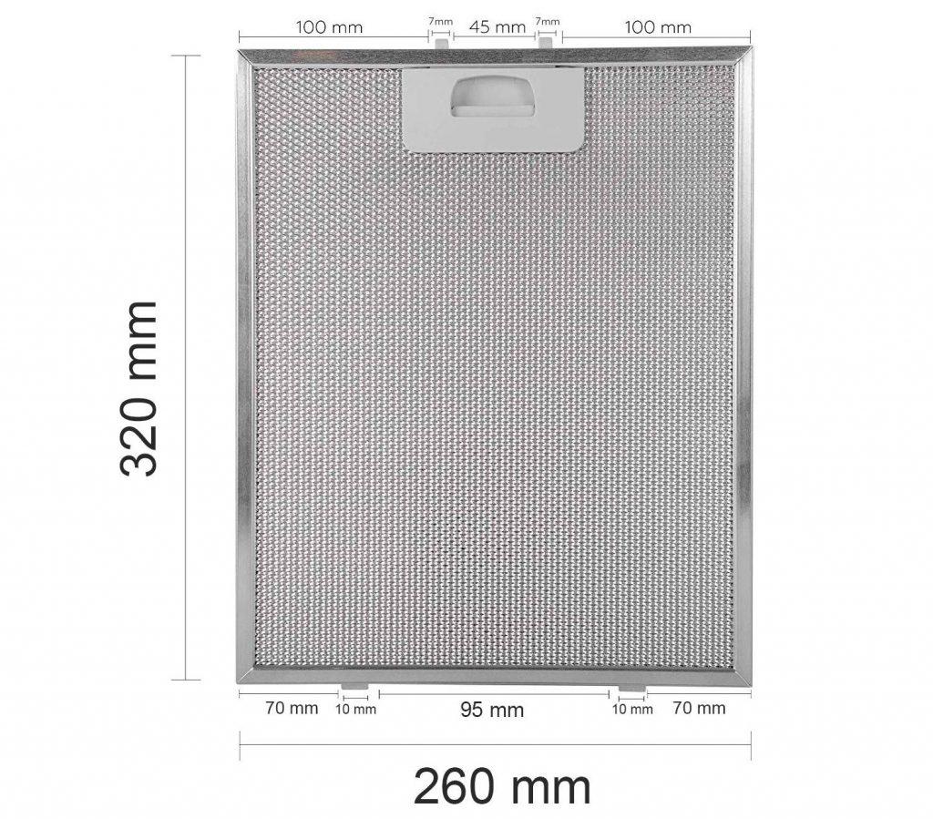 filtro campana extractora orbegozo