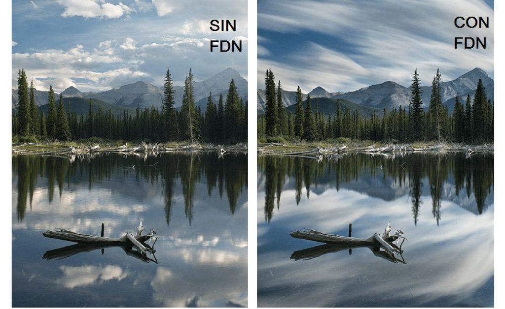 filtro densidad neutra 58mm