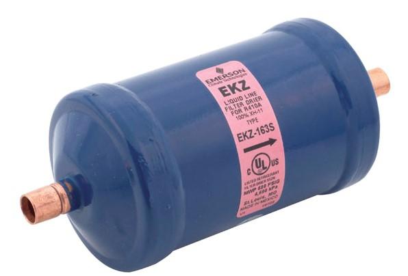 filtro deshidratador obstruido