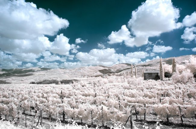 filtro infrarrojo casero