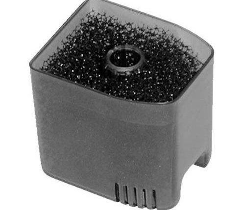 filtro de esponja casero
