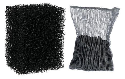 filtro de esponja para gambas