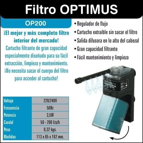 filtro optimus 200 opiniones