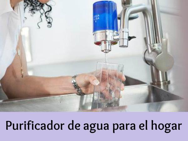 filtro purificador de agua para canilla