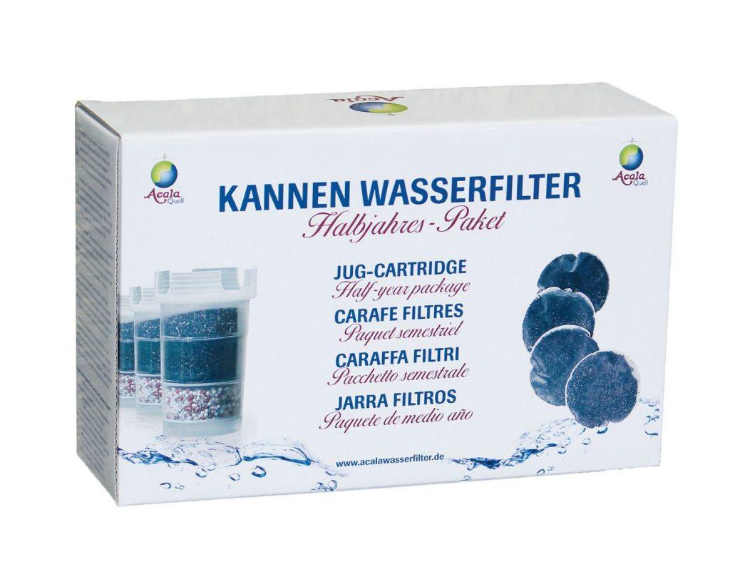filtro descalcificador ducha