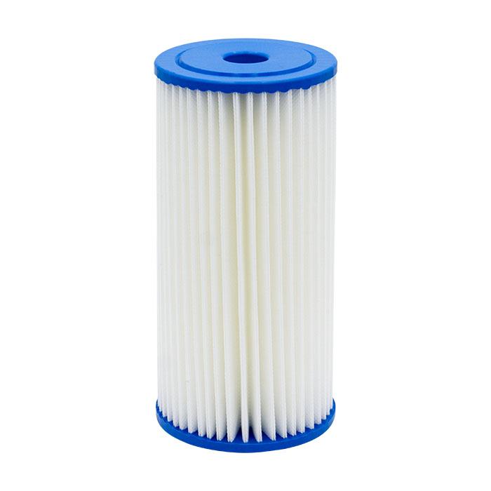 filtro de pliegues uso