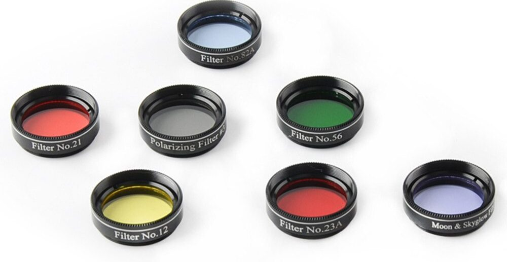 filtro telescopio contaminacion luminica